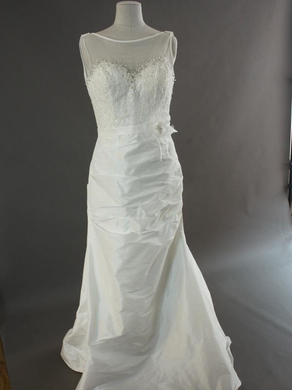 Lou - Linea Raffaelli - devant - la mariée à Bicyclette - robe de mariée occasion