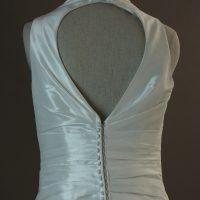 Louissianne - Marylise - detail dos - la mariée à Bicyclette - robe de mariée occasion