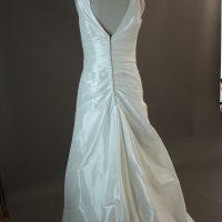 Louissianne - Marylise - dos - la mariée à Bicyclette - robe de mariée occasion