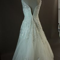Lucy - Miss Kelly - dos - la mariée à Bicyclette - robe de mariée occasion
