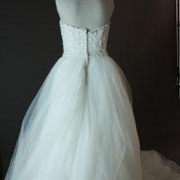 Esmeralda - Rosa Clara - dos - la mariée à Bicyclette - robe de mariée occasion