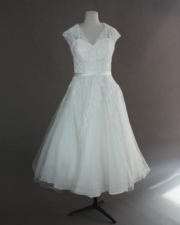 Mélanie - Pronuptia - la mariée à Bicyclette - robe de mariée occasion