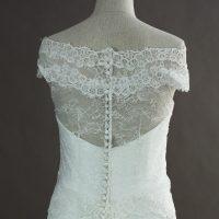Elia - Cymbeline - detail dos - la mariée à Bicyclette - robe de mariée occasion