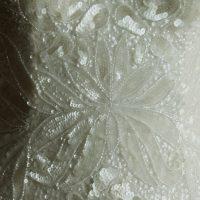 Eve - Aire Beach - detail - la mariée à Bicyclette - robe de mariée occasion