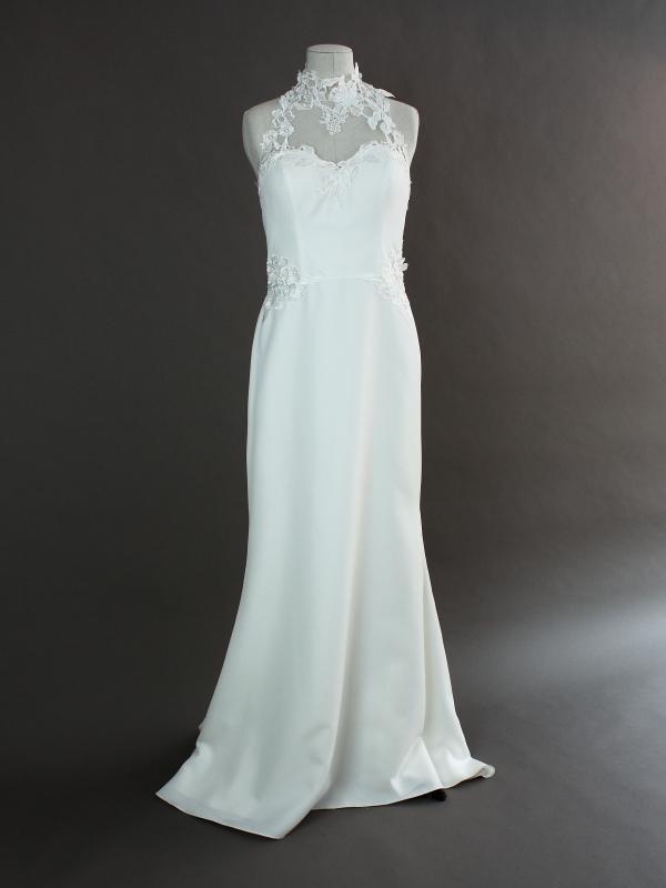 Liesbeth - Linea Raffaelli - devant - la mariée à Bicyclette - robe de mariée occasion