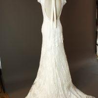 Garance - Cymbeline - dos - la mariée à Bicyclette - robe de mariée occasion