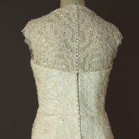 Diane - Tomy mariage - detail dos - la mariée à Bicyclette - robe de mariée occasion