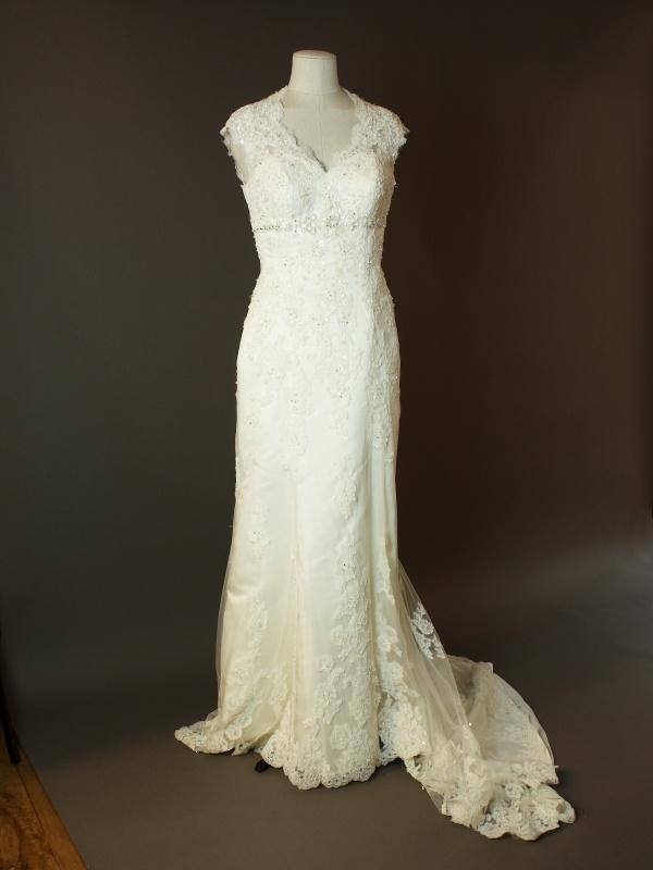 Diane - Tomy mariage - devant - la mariée à Bicyclette - robe de mariée occasion