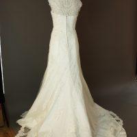 Diane - Tomy mariage - dos - la mariée à Bicyclette - robe de mariée occasion