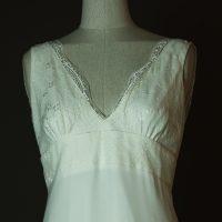 Lilly - Elsa Gary - La mariée à bicyclette - robe de mariée d'occasion - detail devant