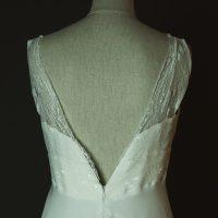 Lilly - Elsa Gary - La mariée à bicyclette - robe de mariée d'occasion - detail dos
