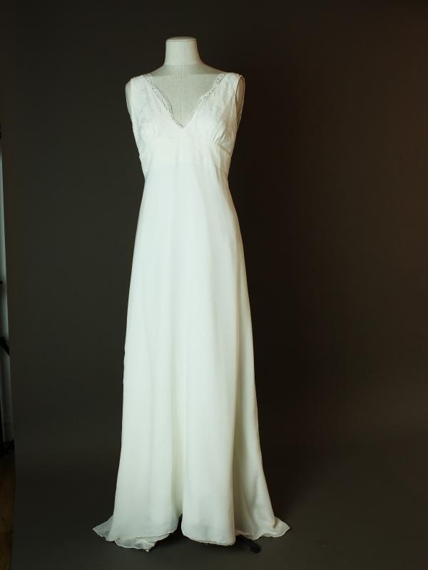 Lilly - Elsa gary - La mariée à bicyclette - robe de mariée d'occasion - devant