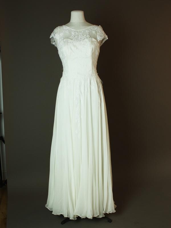 Lisboa - Sadoni - La mariée à bicyclette - robe de mariée d'occasion - devant