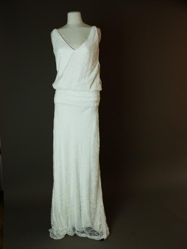 Catroux - Charlie Brear - La mariee à bicyclette - robe de mariée d'occasion - devant