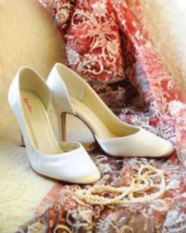 Emma - La mariée à Bicylette - chaussures Elsa Coloured Shoes - outlet