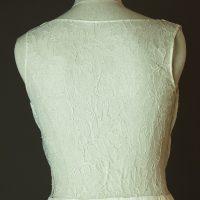 Norway - Sadoni - La mariee à bicyclette - robe de mariée outlet - detail dos