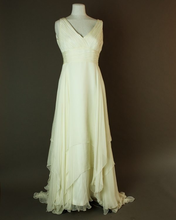 Elinda - Rosa Clara - La mariee à bicyclette - robe de mariée occasion - devant
