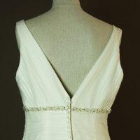Gatienne - Marylise - La mariee à bicyclette - robe de mariée occasion - detail dos