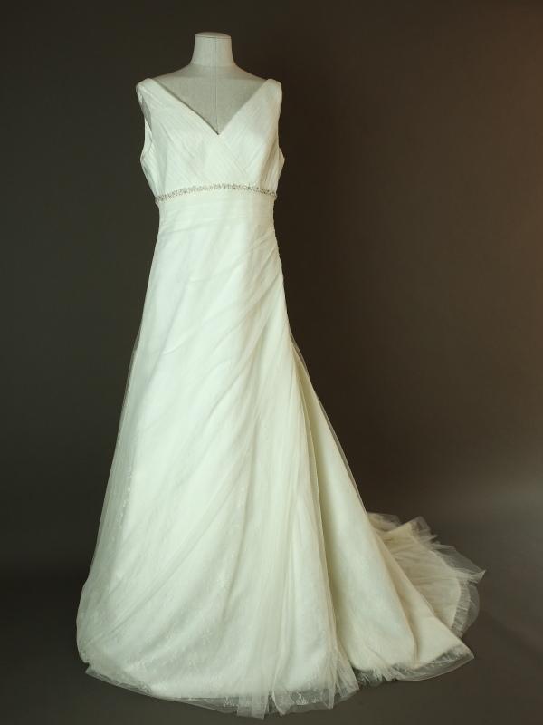 Gatienne - Marylise - La mariee à bicyclette - robe de mariée occasion - devant