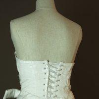 Pocker face - Max Chaoul - La mariee à bicyclette - robe de mariée occasion - detail dos