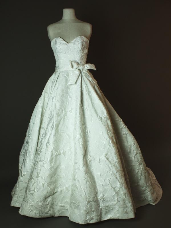 Pocker face - Max Chaoul - La mariee à bicyclette - robe de mariée occasion - devant