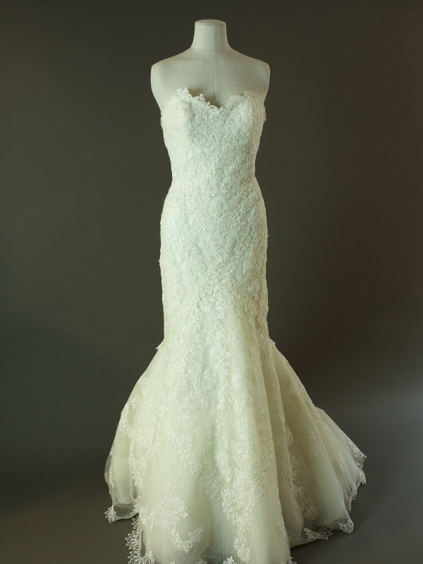 Livine - Bella - Pronovias - La mariée à bicyclette - robe de mariée d'occasion