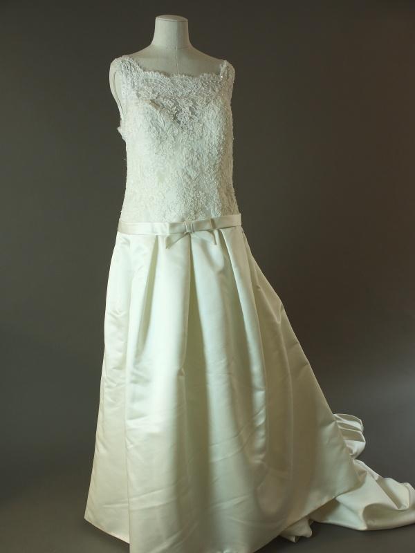 Léolia - Rosa Clara - Arizona - La mariée à bicyclette - robe de mariée d'occasion -devant