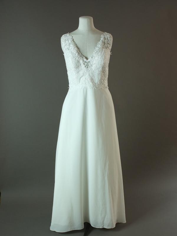 Ellia - La mariée à bicyclette - robe de mariée d'occasion - devant