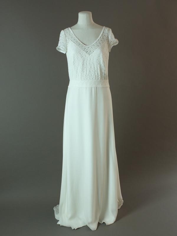Westbrook - Otaduy - La mariée à bicyclette - robe de mariée outlet - devant