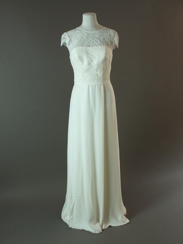 Kathryn - Otaduy - La mariée à bicyclette - robe de mariée outlet - devant