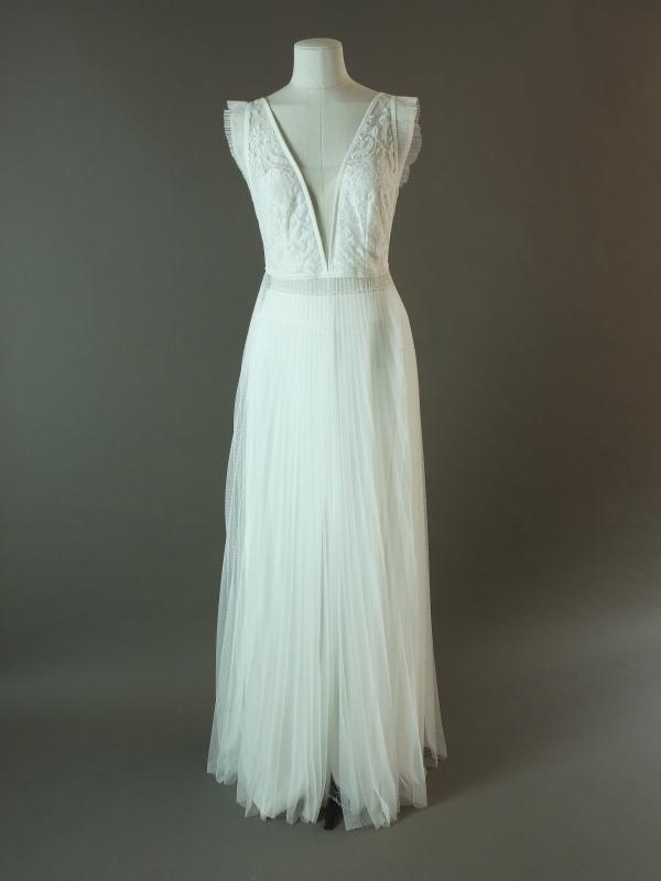 Honeymoon - Rembo Styling - La mariée à bicyclette - robe de mariée d'occasion - devant