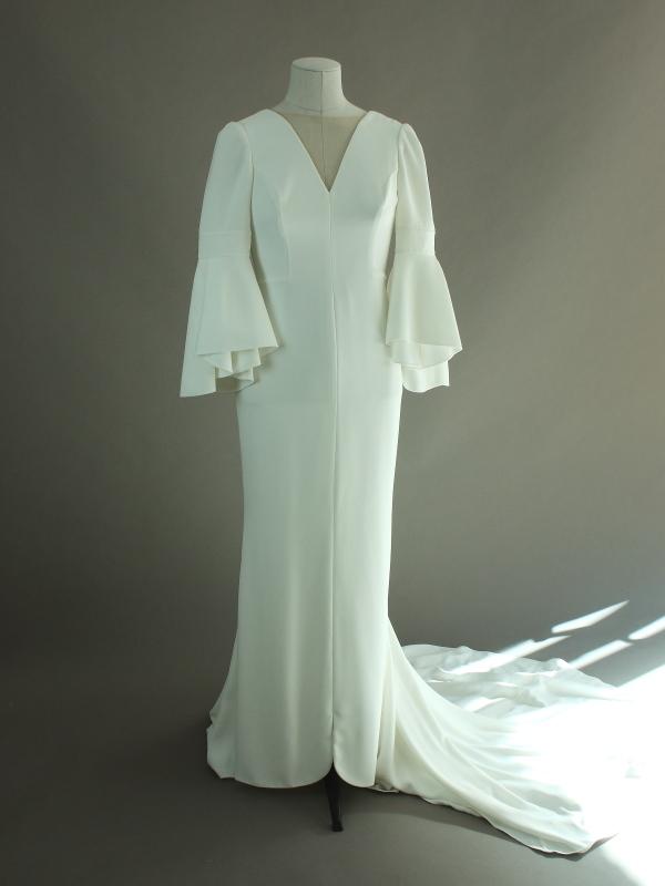 Pradera - Rosa Clara - La mariée à bicyclette - robe de mariée d'occasion- devant