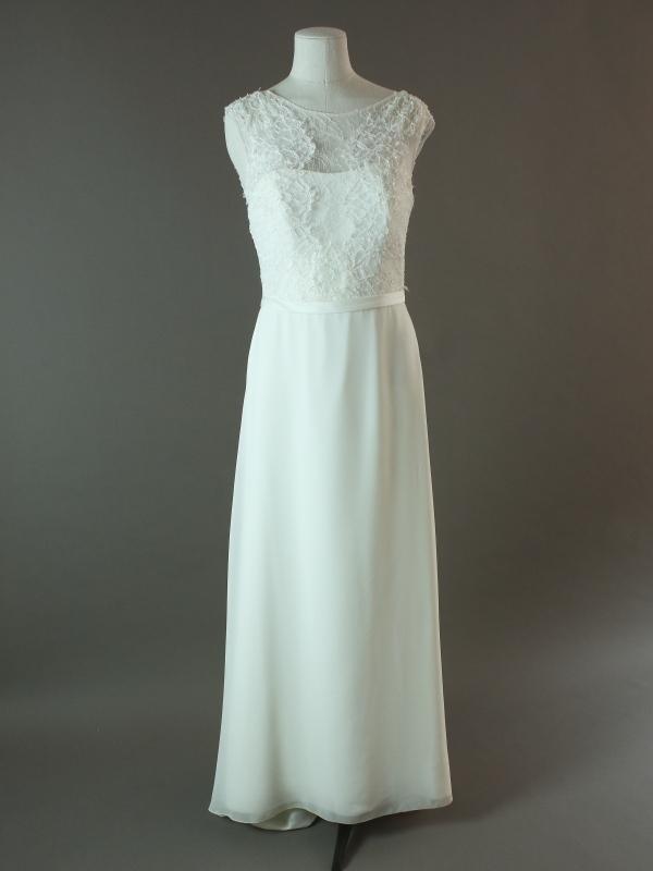 Esther - Jesus peiro - La mariée à bicyclette - robe de mariée d'occasion - devant