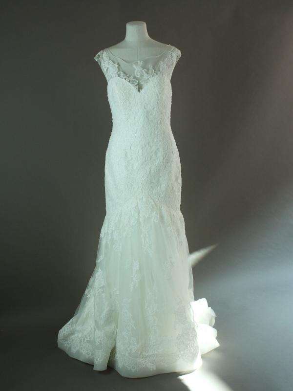 Zadar - Adriana Alier - La mariée à bicyclette - robe de mariée outlet - devant