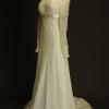 Gwendolina la mariée à bicyclette robe de mariée outlet Anna Tumas profil