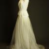 Aude la mariee à bicyclette robe de mariée outlet Rime Arodaky profil