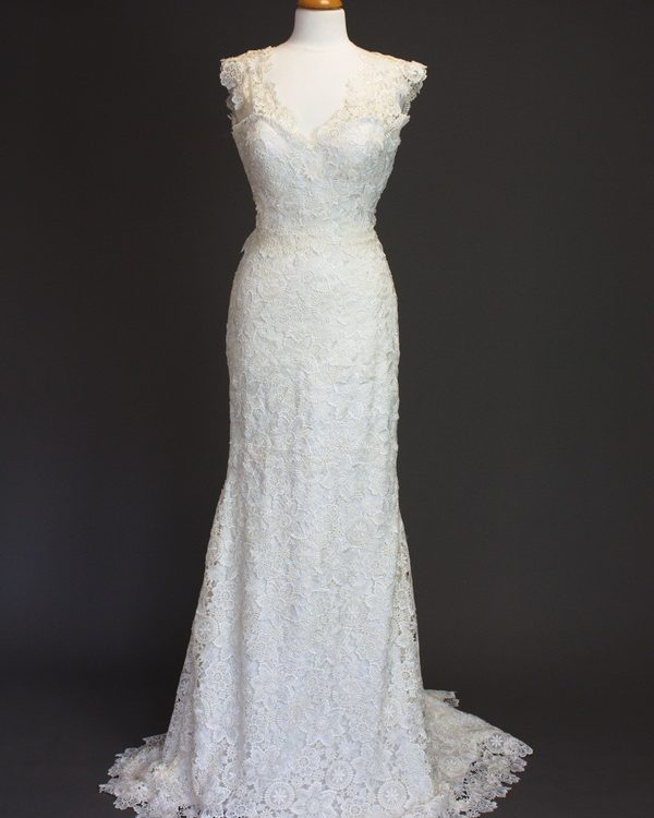 Donatella La Mariée à Bicyclette - robe de mariée d'occasion - Novia d'Arte