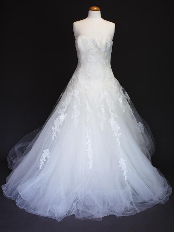 Lesly la mariée à bicyclette - robe de mariée occasion - pronovias