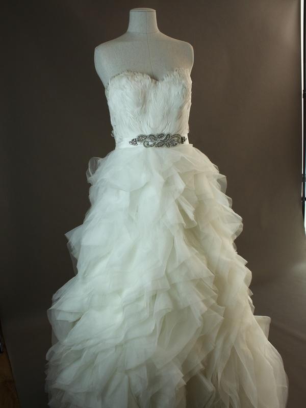 Geneva - Pronovias - dos - la mariée à Bicyclette - robe de mariée occasion