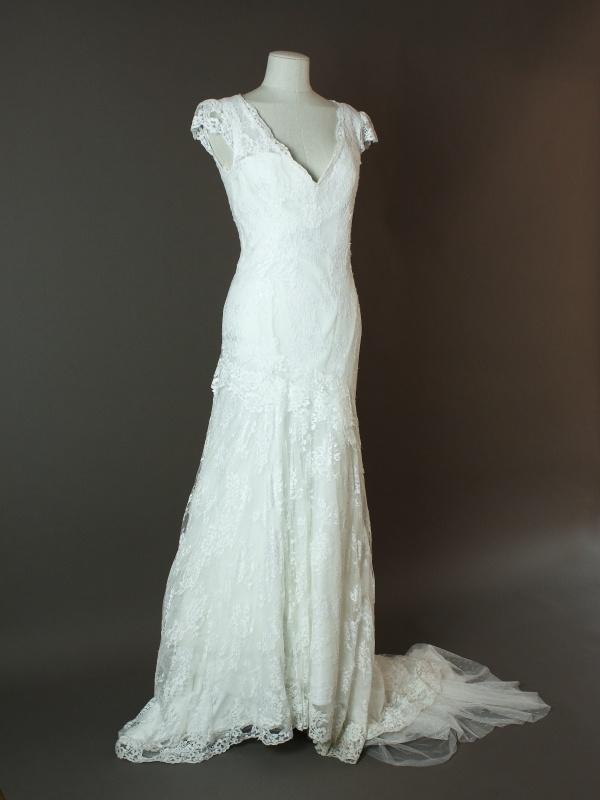 Garance - Cymbeline - devant - la mariée à Bicyclette - robe de mariée occasion