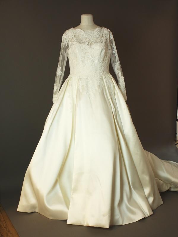 Margaux - Pronovias - devant - la mariée à Bicyclette - robe de mariée occasion