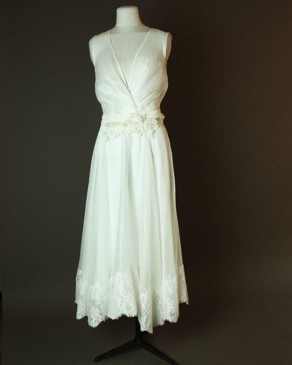 Emaelle - Rhea Costa - La mariee à bicyclette - robe de mariée d'occasion - devant