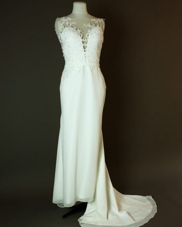Dulce - My Perfect Wedding - La mariee à bicyclette - robe de mariée occasion - devant