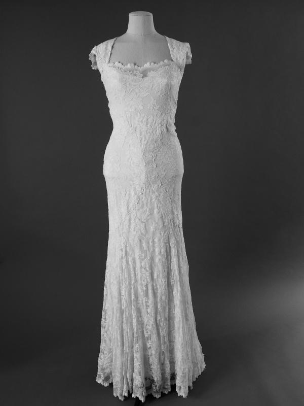 Danaëlle - Olvis - La mariée à bicyclette - robe de mariée d'occasion - devant