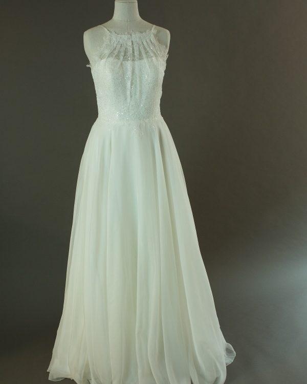 Fay - Lilly - La mariée à bicyclette - robe de mariée d'occasion - devant