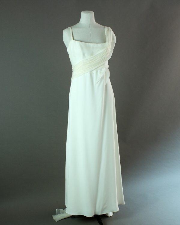 Fae - Rembo Styling - La mariée à bicyclette - robe de mariée d'occasion - devant
