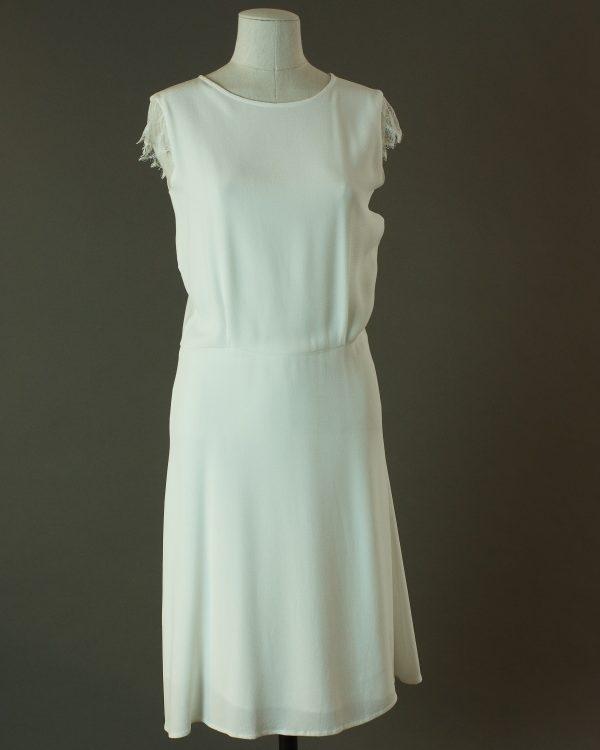 Fader - Sessun - La mariée à bicyclette - robe de mariée d'occasion - devant