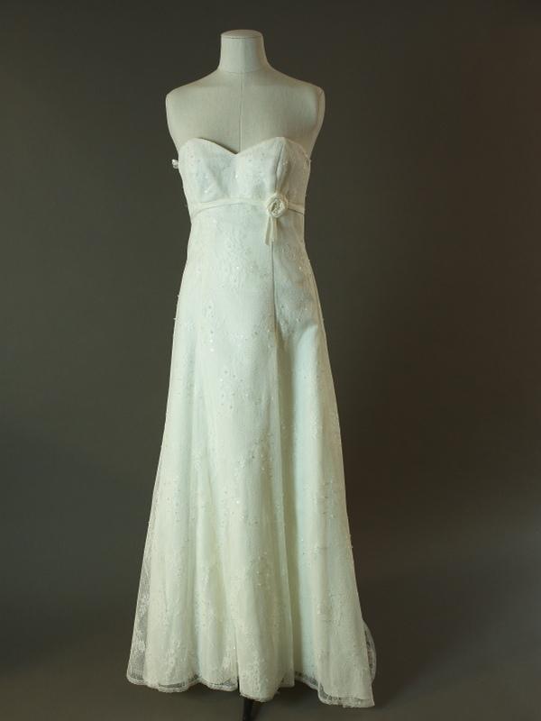 Géraldine - Bella Paris - La mariée à bicyclette - robe de mariée d'occasion - devant