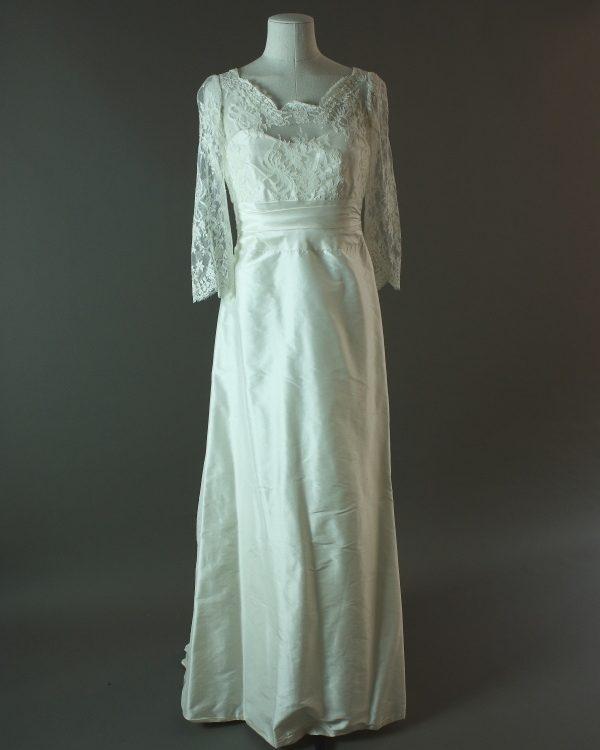 Dauphine - Upsylon - La mariée à bicyclette - robe de mariée d'occasion - devant