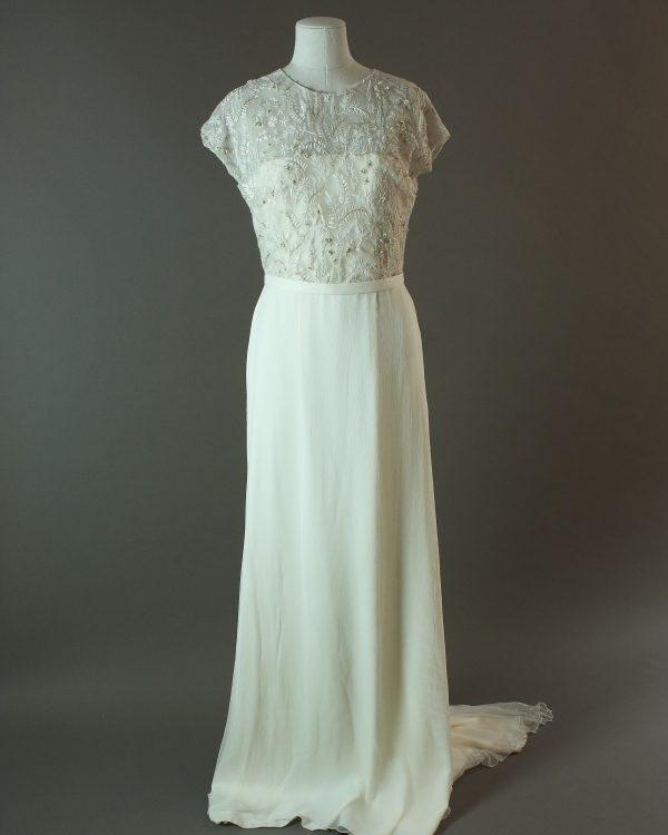 Hegoa - Otaduy - La mariée à bicyclette - robe de mariée outlet - devant